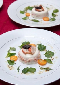 Lobster Panna Cotta