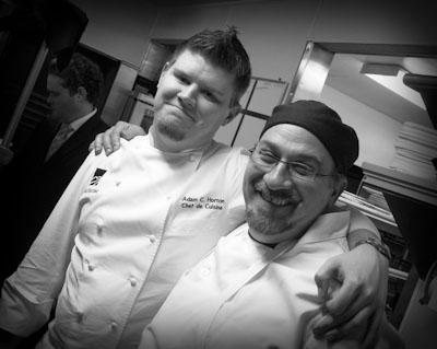 Chef de Cuisine Adam Horton and Myself