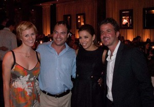 Eva Longoria, Dorian Asch, The GM of Beso and