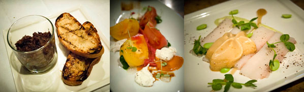 first 3 courses